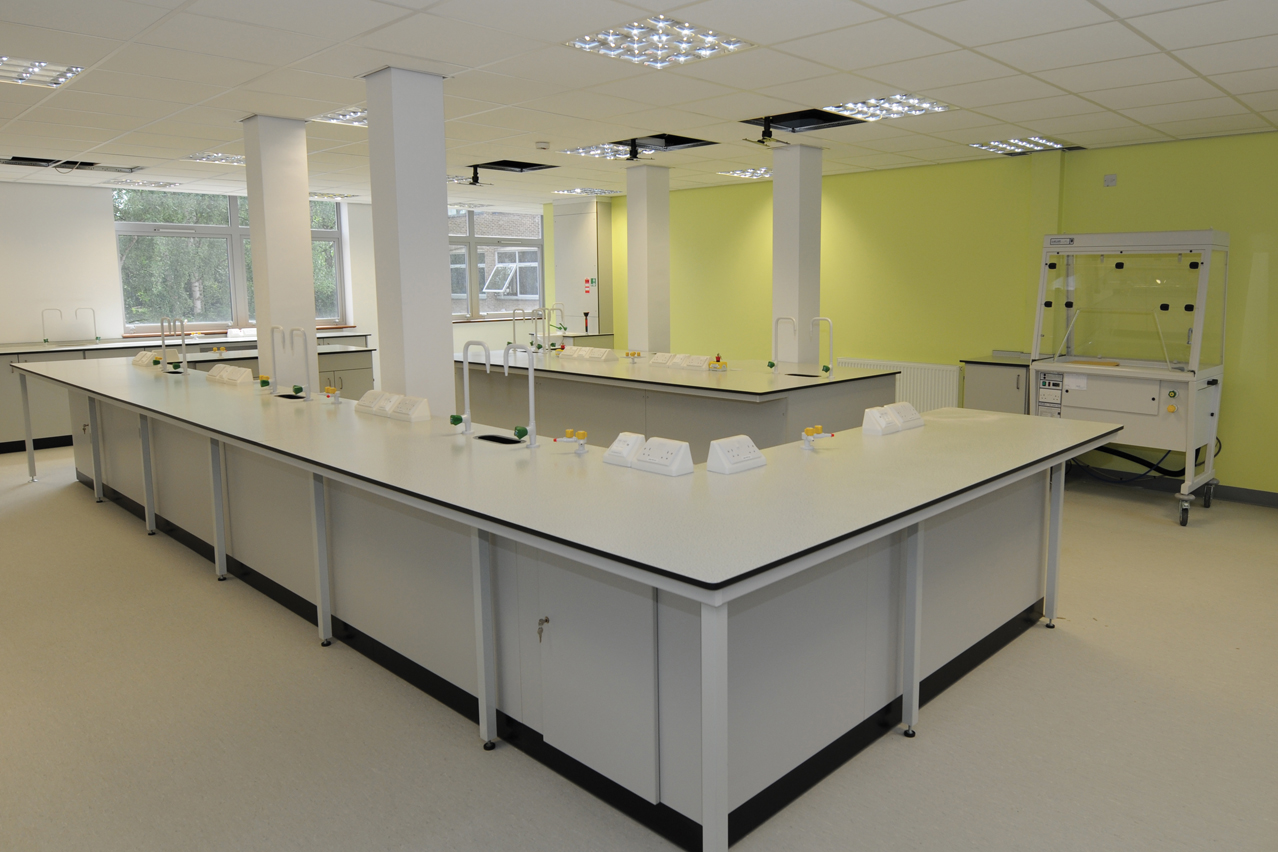 W.E. Marson educational laboratory furniture