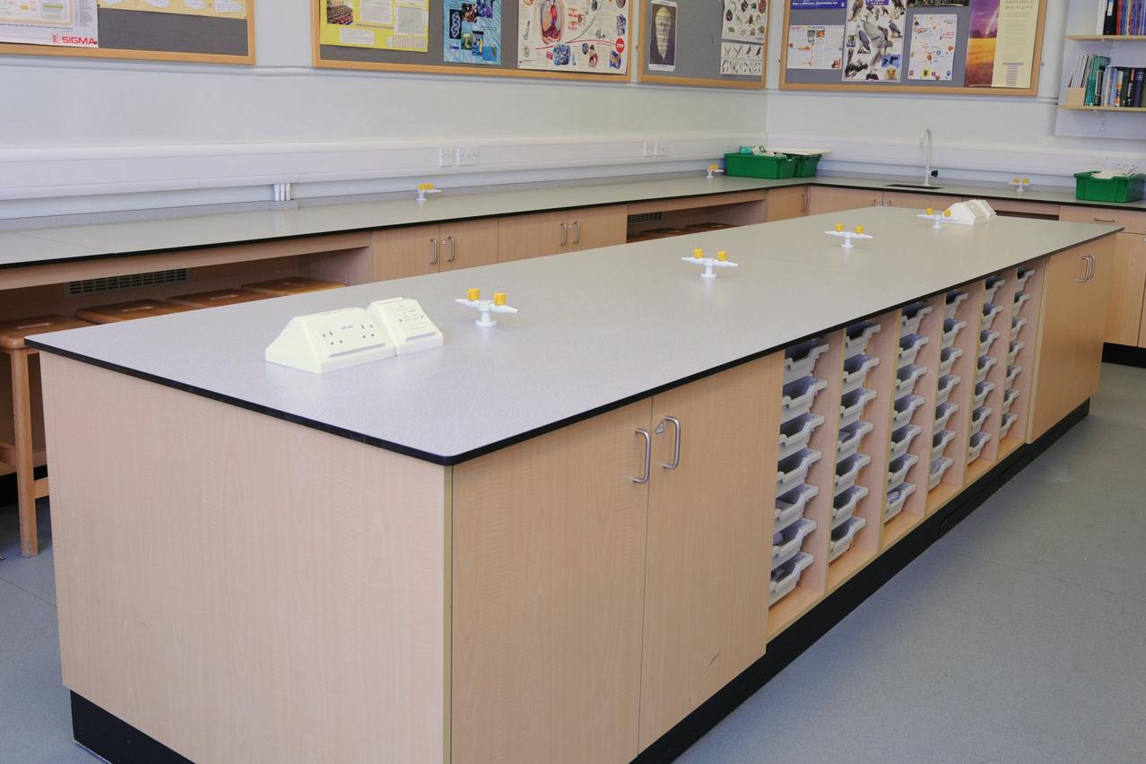 W.E. Marson educational laboratory furniture