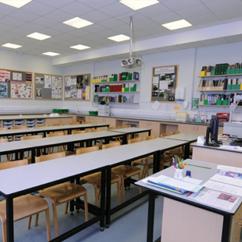 W.E. Marson secondary education laboratory furniture