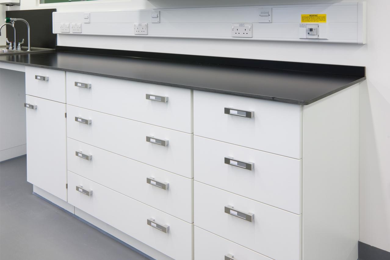 W.E. Marson laboratory storage solutions