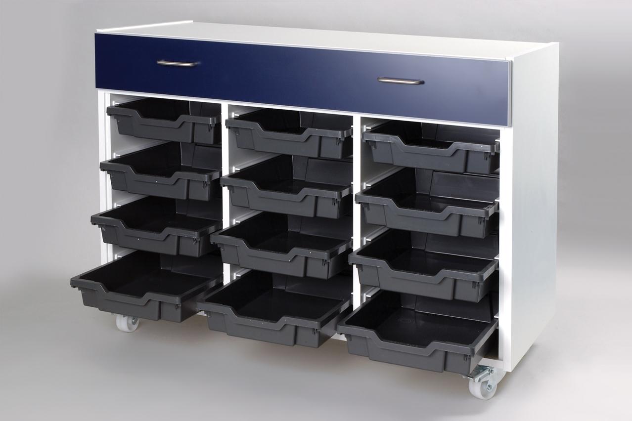 W.E. Marson bespoke tray and drawer unit