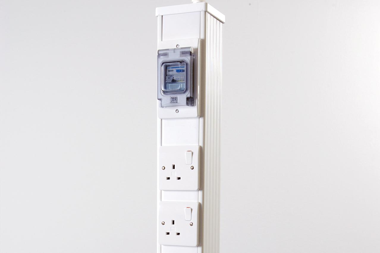 W.E. Marson electrical pillar laboratory furniture