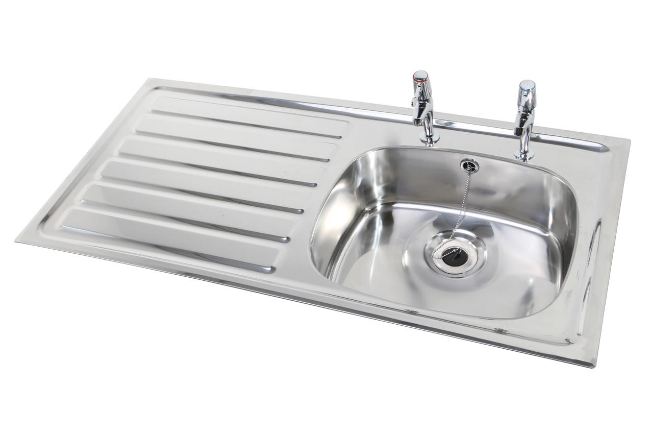 W.E. Marson stainless steel sink