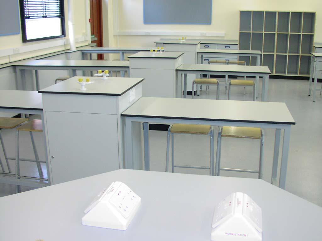 W.E. Marson laboratory furniture