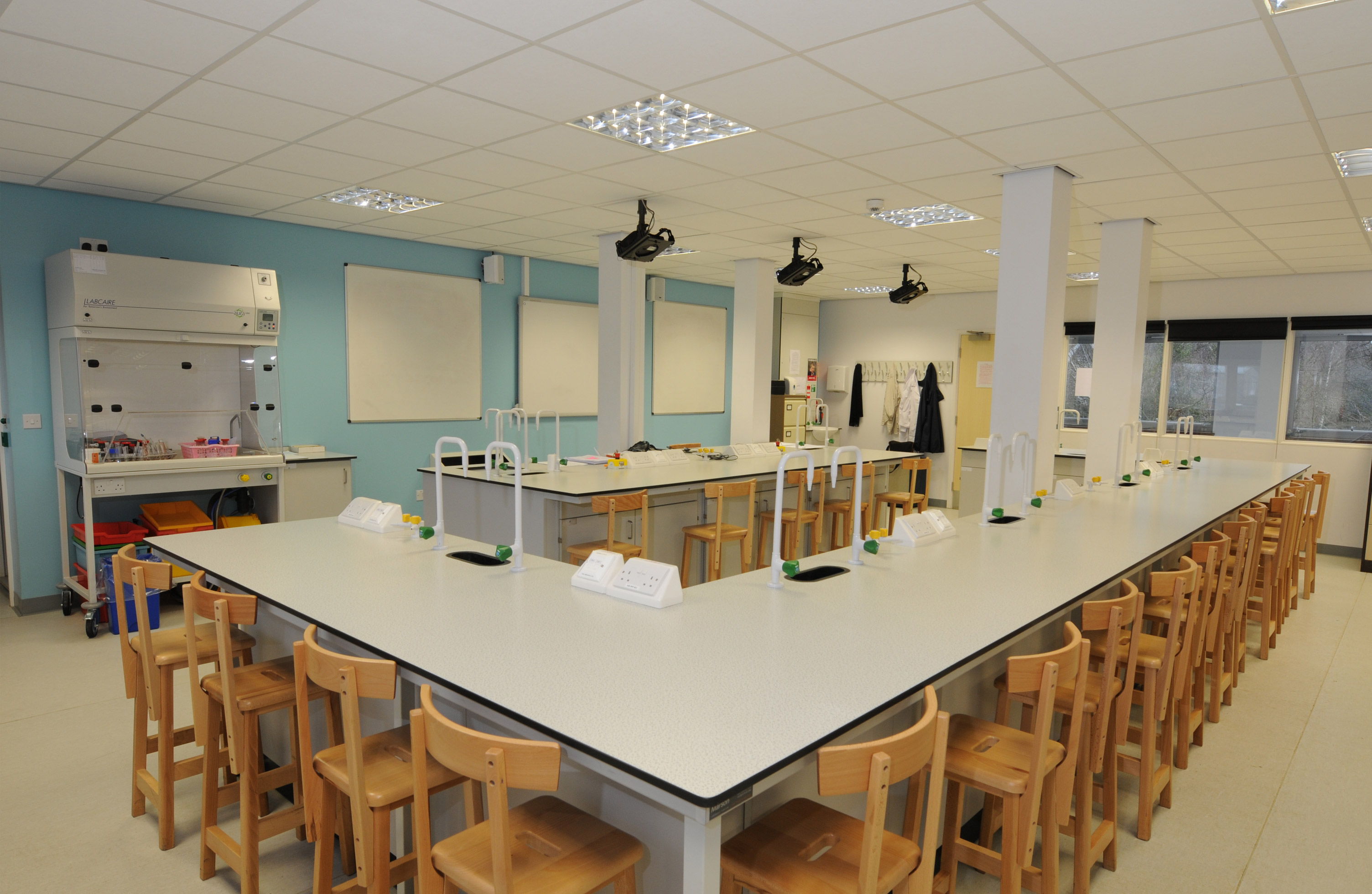 W.E. Marson secondary education laboratory furniture