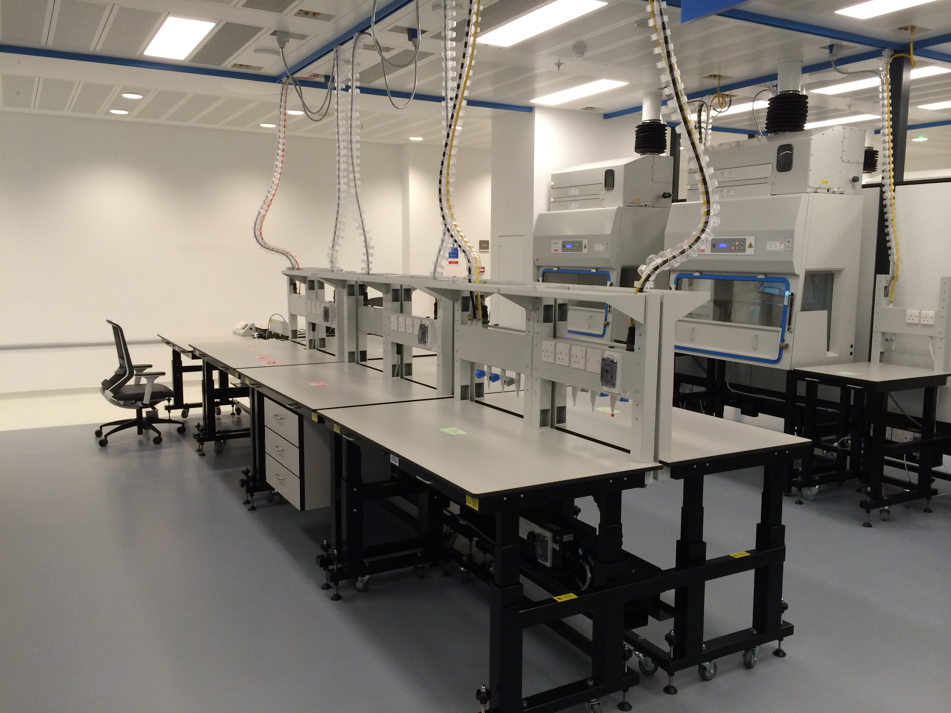 W.E. Marson flexi-lab furniture