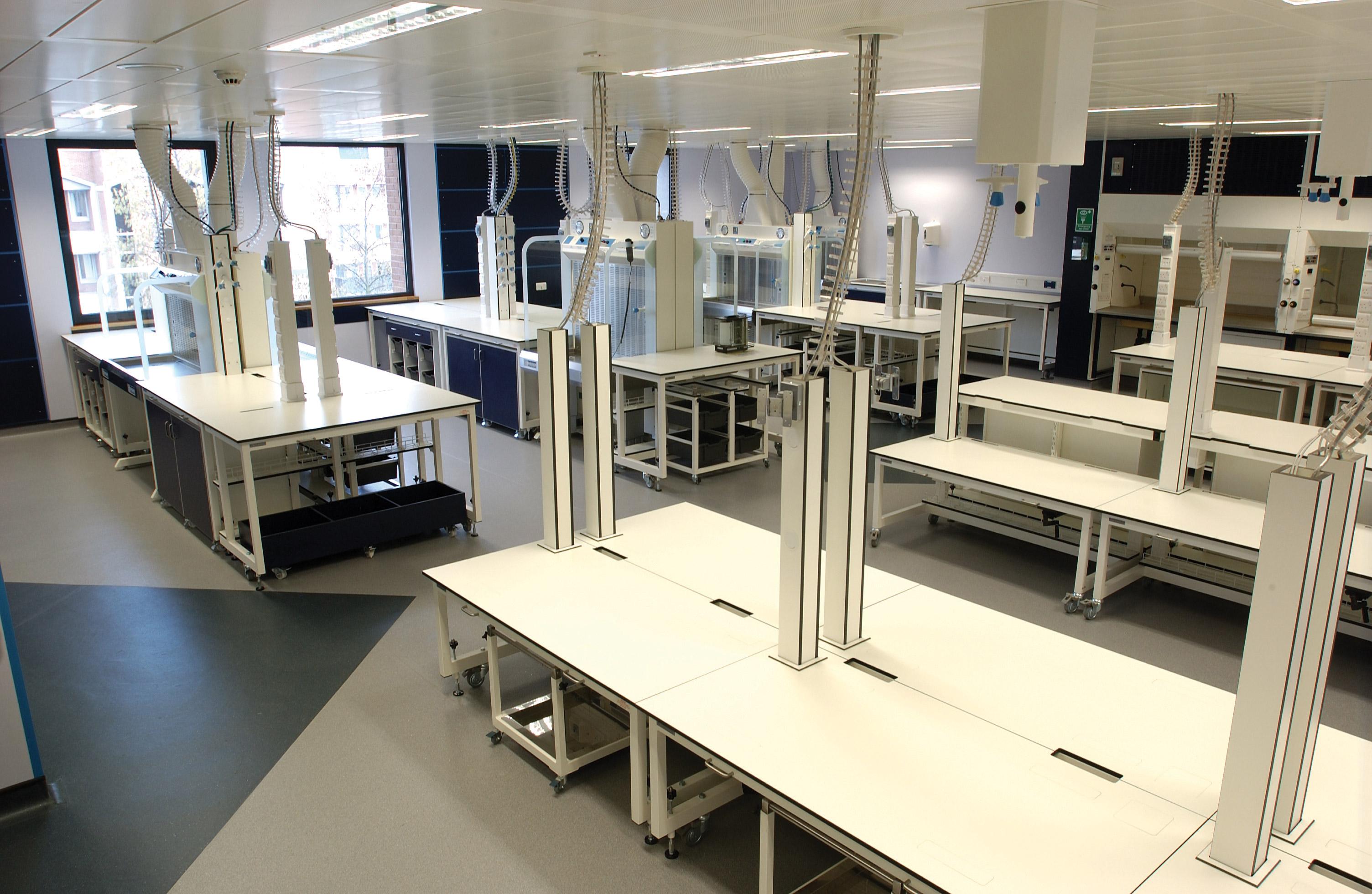 W.E. Marson flexi-lab laboratory furniture