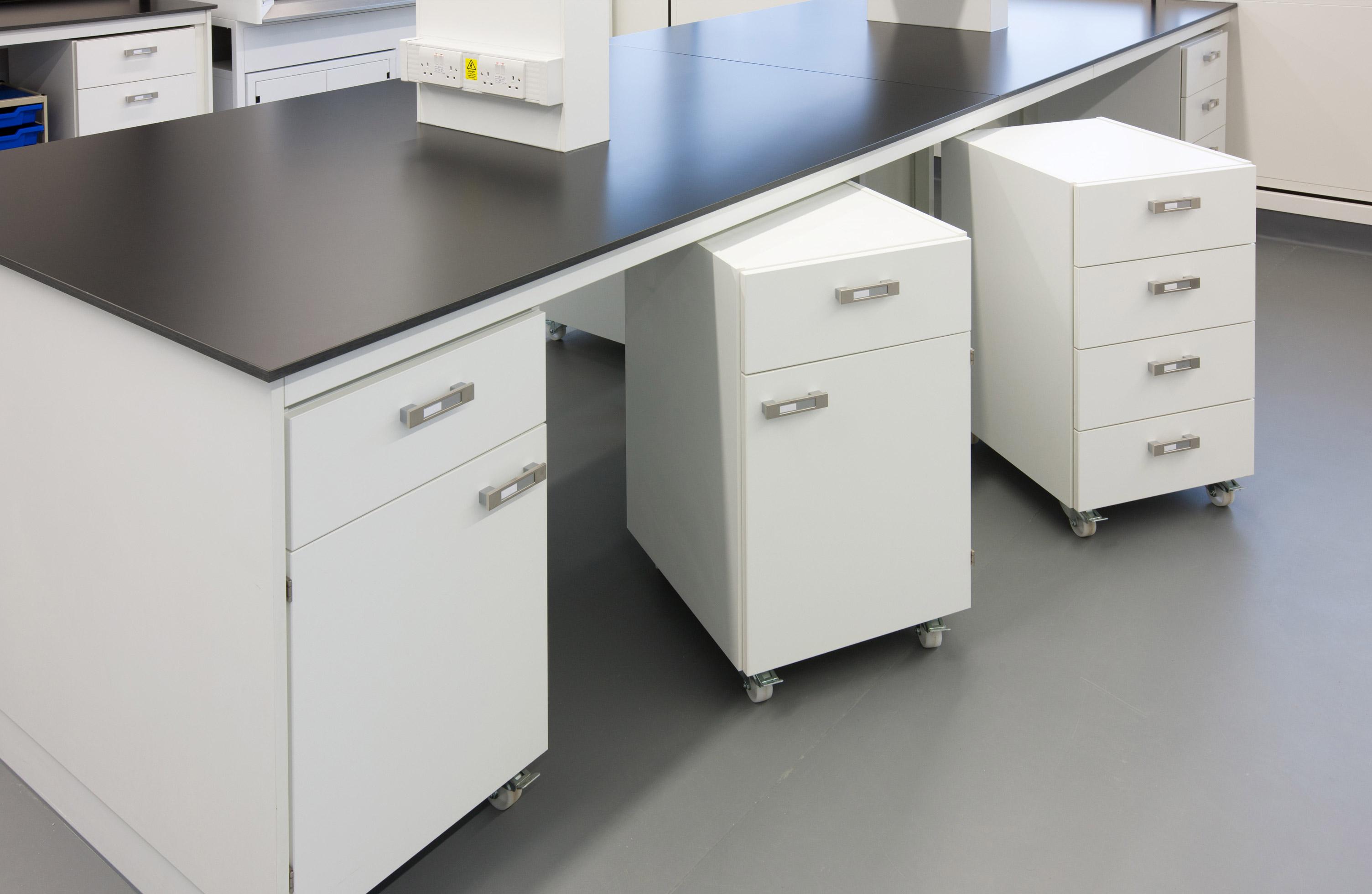 W.E. Marson flexible laboratory furniture