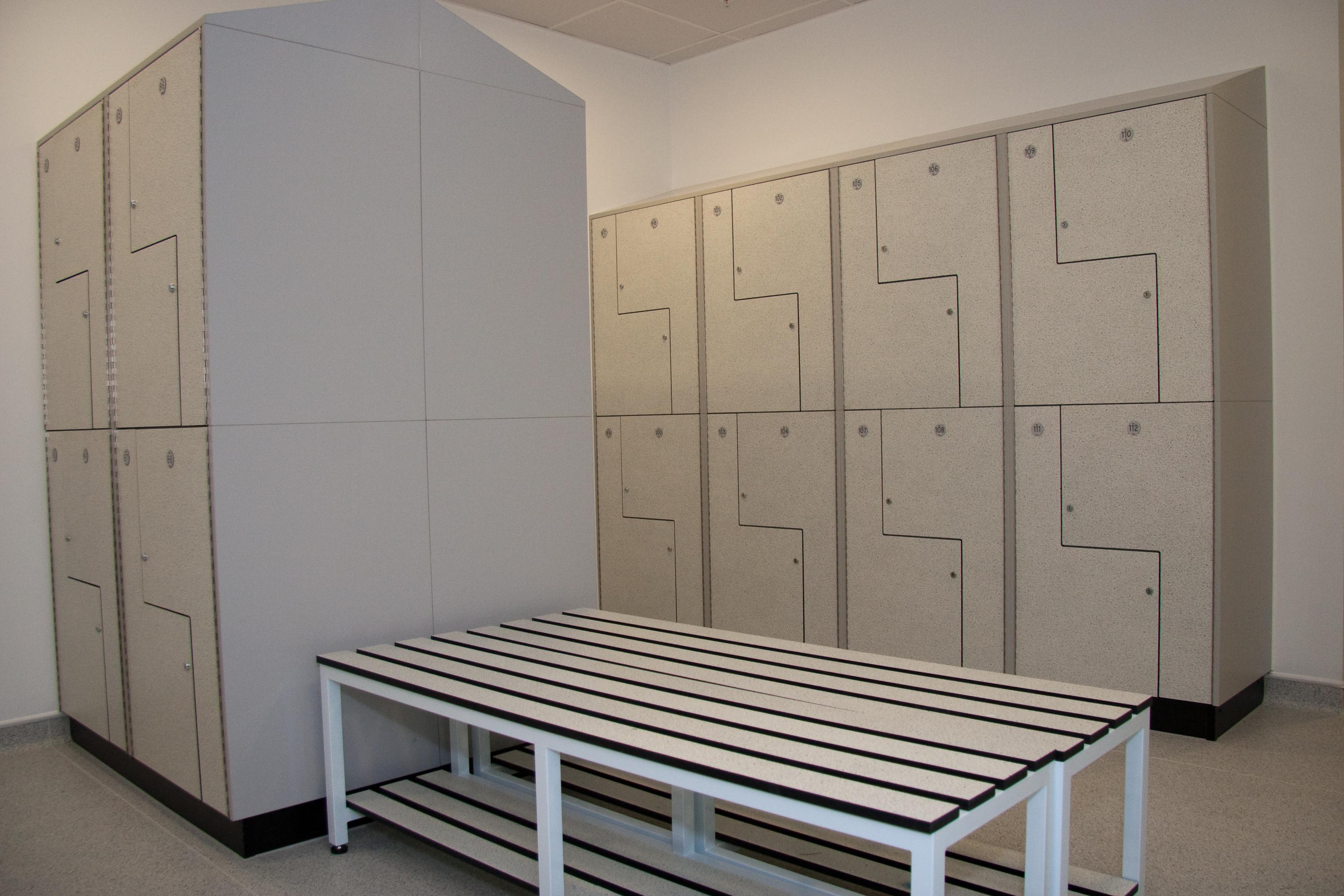 W.E. Marson Bespoke changing room