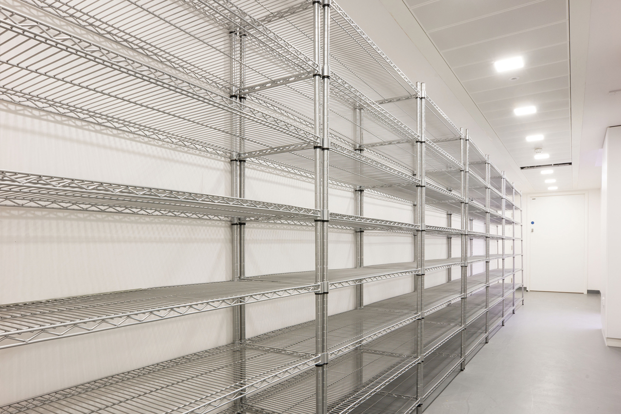 A wide range of racking is available